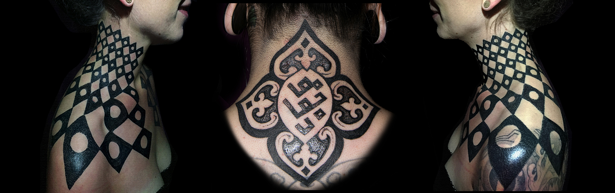 Touka Voodoo's tattoo work