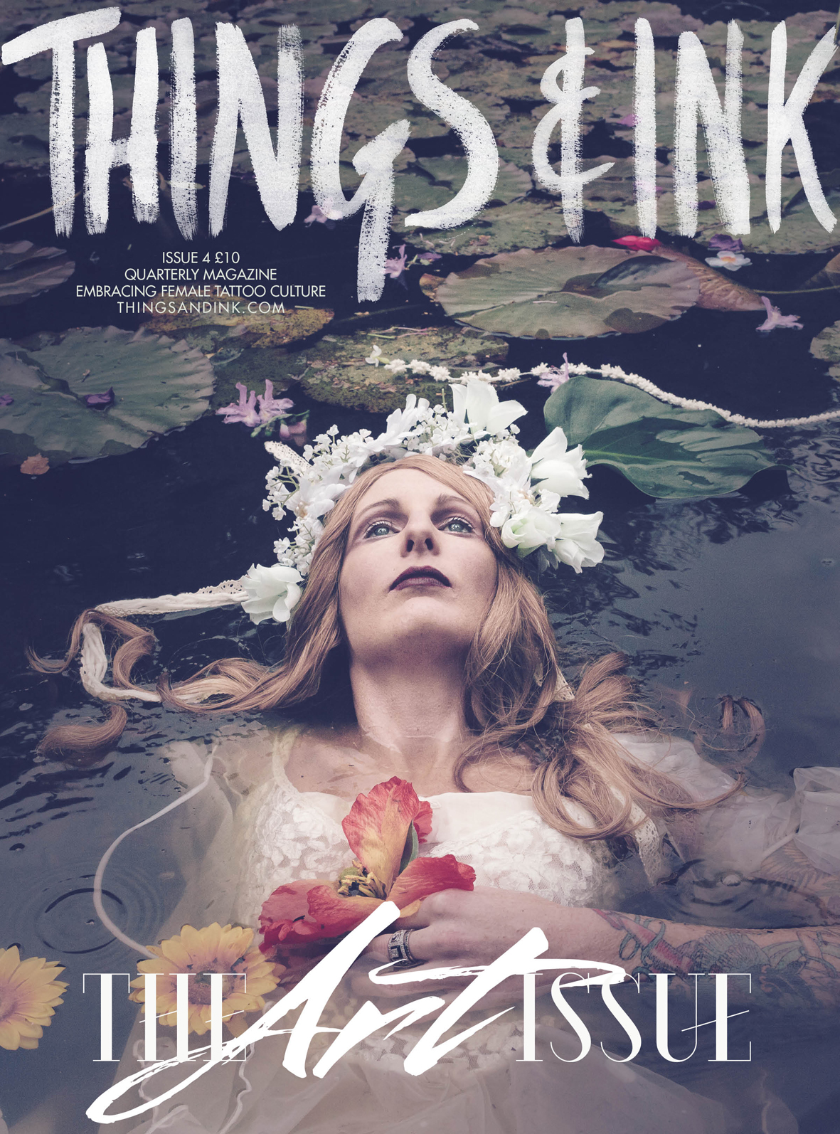 Things&Ink Art issue