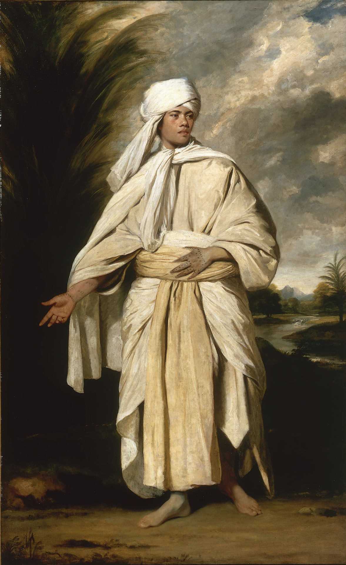 Joshua Reynolds  Portrait of Omai