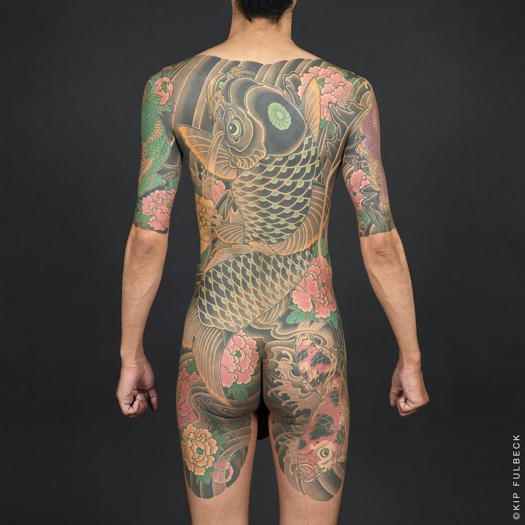 Tattoo by Miyazo. Photo by Kip Fulbeck