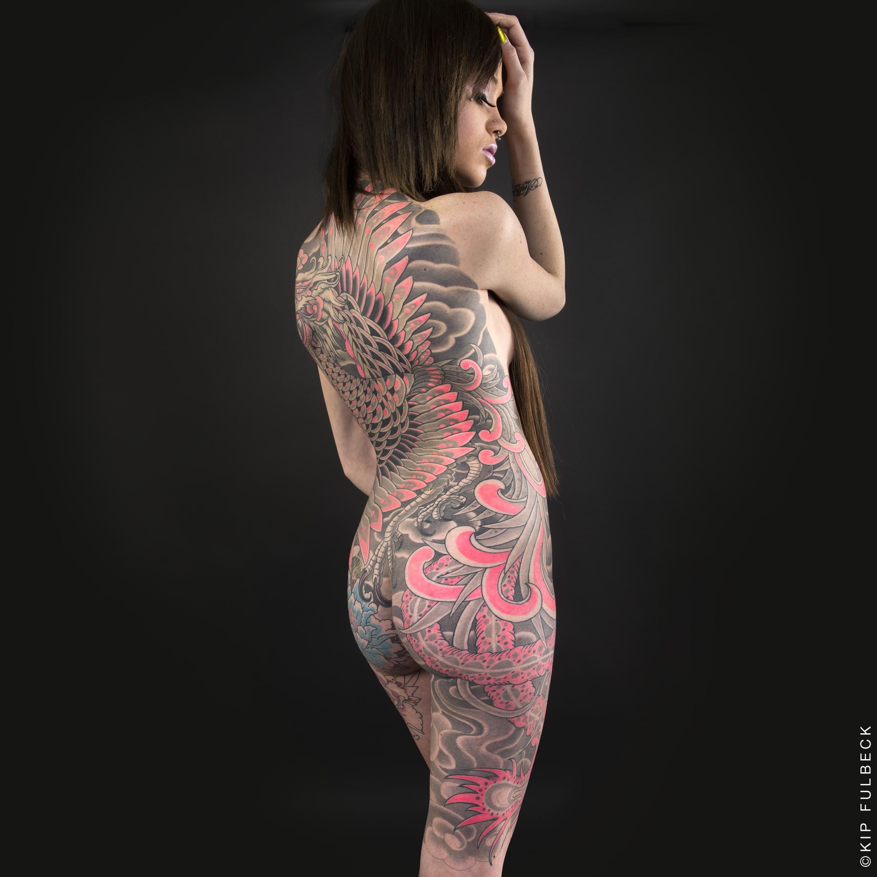 Tattoo by Stan Corona. Photo by Kip Fulbeck