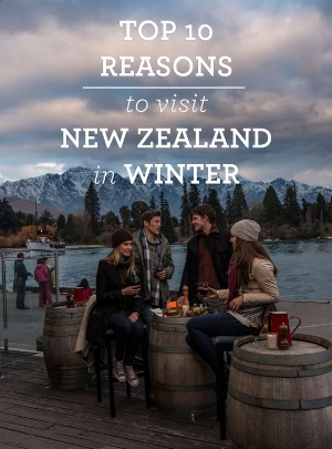 Top 10 Reasons to visit New Zealand in the Winter.    An insiders look into the winter wonderland that New Zealand can offer her visitors.