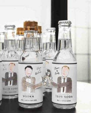 15 Same Sex Wedding Goodies    Ideas to give to your guests as wedding favors.