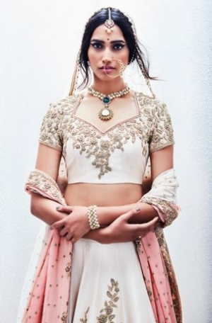 Delhi Designer's Gorgeous Wedding Gowns.    Sue Mue's summer collection of stunning wedding dresses.