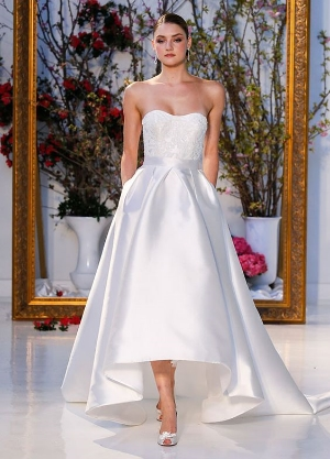 9 of the Biggest Bridal Dress Trends for Spring 2017.    A look at the fashions from the Bridal Fashion Week.