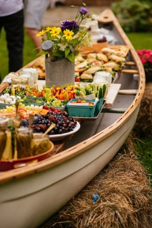 50 Fun Menu Innovations For Your Reception.    Unique ideas to wow your guests.