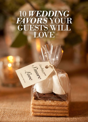 10 Wedding Favors Your Guests Will Love.    Beautiful and enjoyable wedding favors.