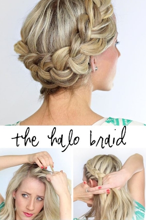 13 DIY Wedding Hairstyles to Try On Your Own.    Hairstyle info-graphic tutorials.