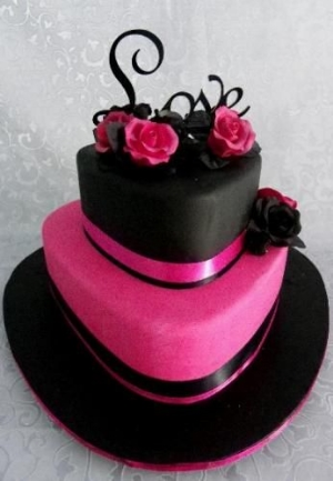 Pink and Chocolate Brown Cakes to Inspire You  .  A collection of cakes to spark your creative thinking.