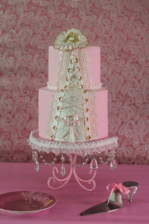 Pretty In Pink Showcase of Cakes.    To support Breast Cancer Awareness.