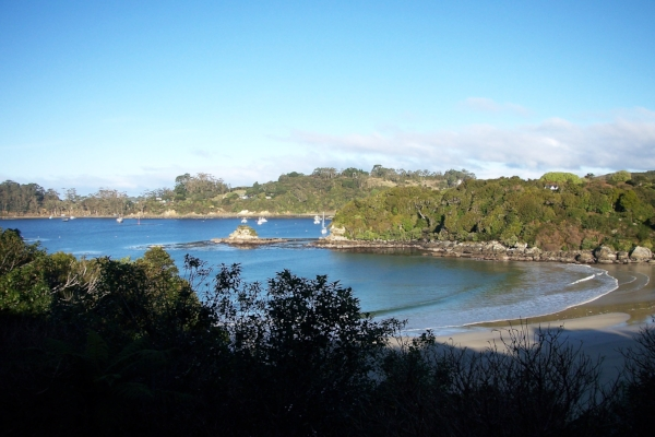 Copy of Beautiful Beaches on Stewart Island, New Zealand.