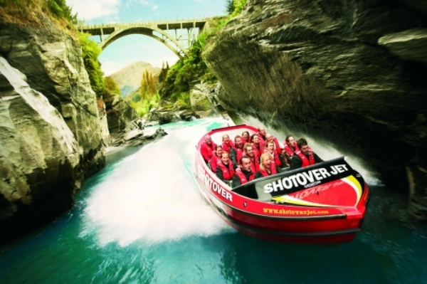 Shotover Jet, Queenstown.