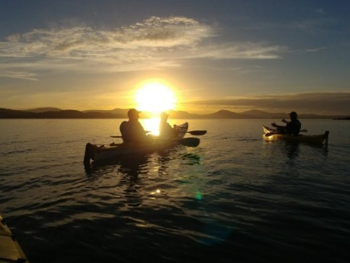 Twilight Kayak of Paterson Inlet