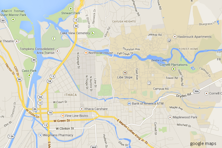 City of Ithaca, 14850 NY