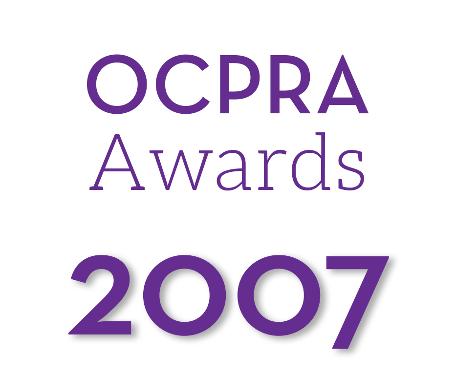 OCPRA Awards Graphic 2007.png