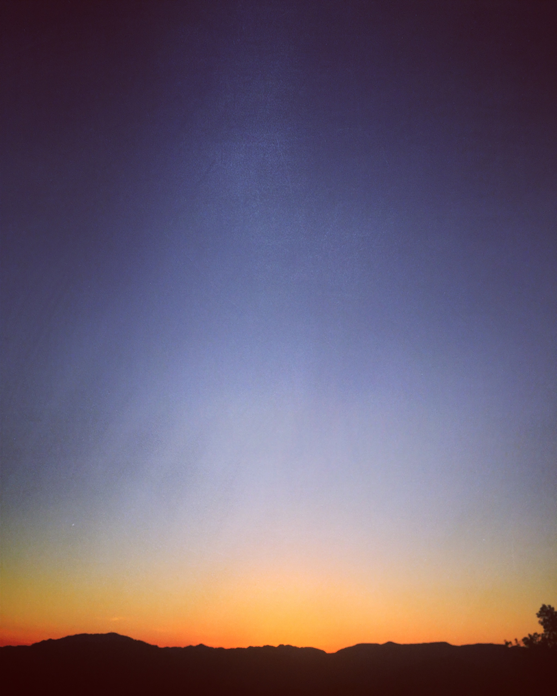 pond farm sky
