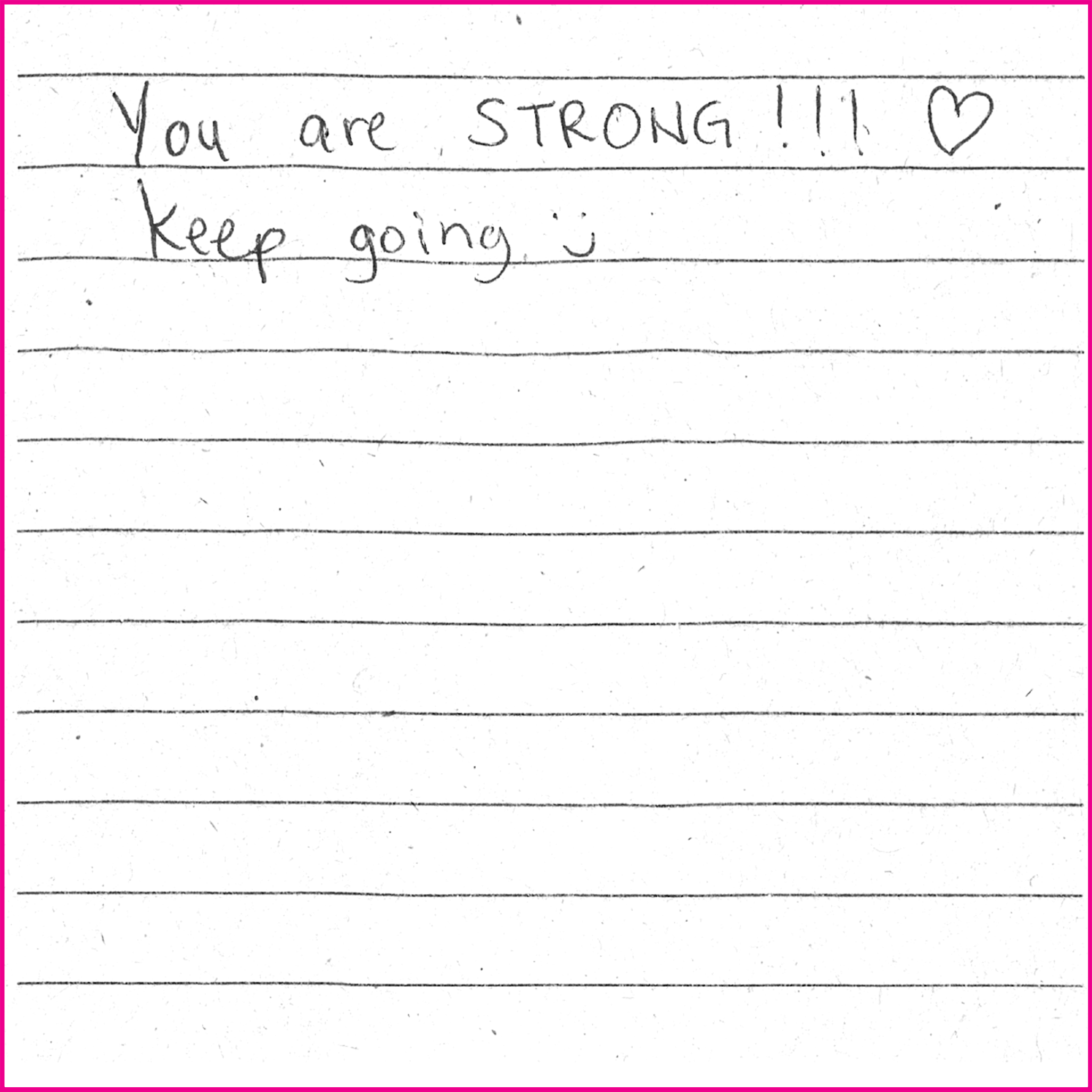 You are strong!!! Keep going :)