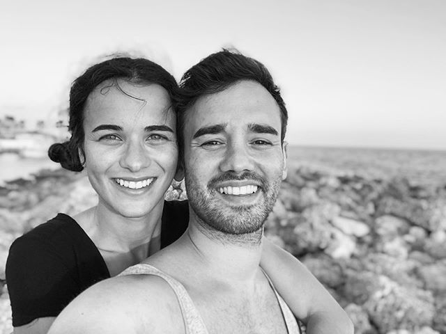 I didn't wanted to post anything while being on va.k but here is our last day of happiness in beautiful Turkey 🇹🇷 I will post more impressions in my story now. • • • #vacation #turkey #side #timeout #smile #couple #wannagoback #blackandwhite #loveyou