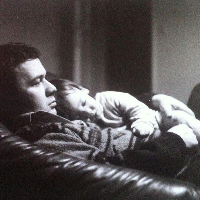 Still my favorite ♥️ • • • #dadlove #babyme #sleeping #safe