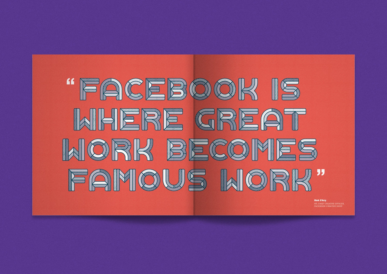 Facebook Awards Annual — James Round - Designer