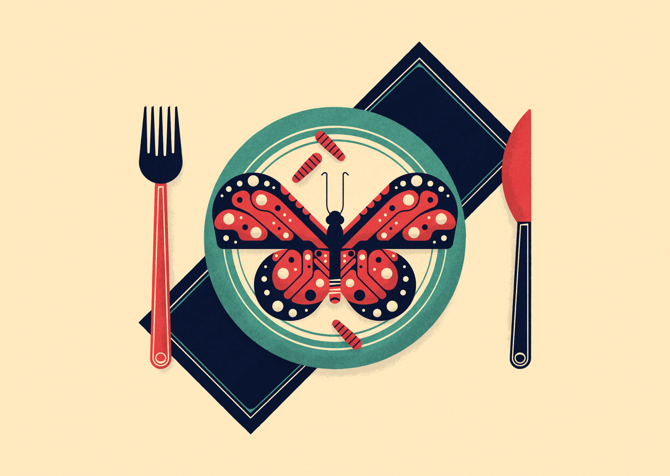 Above /  NPR -  Your Ancestors Probably Ate Insects. So What's Bugging You?