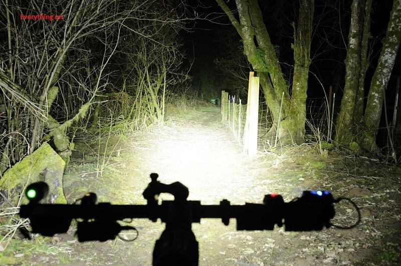 Riding at night opens up a whole new world of mountain biking awesomeness!