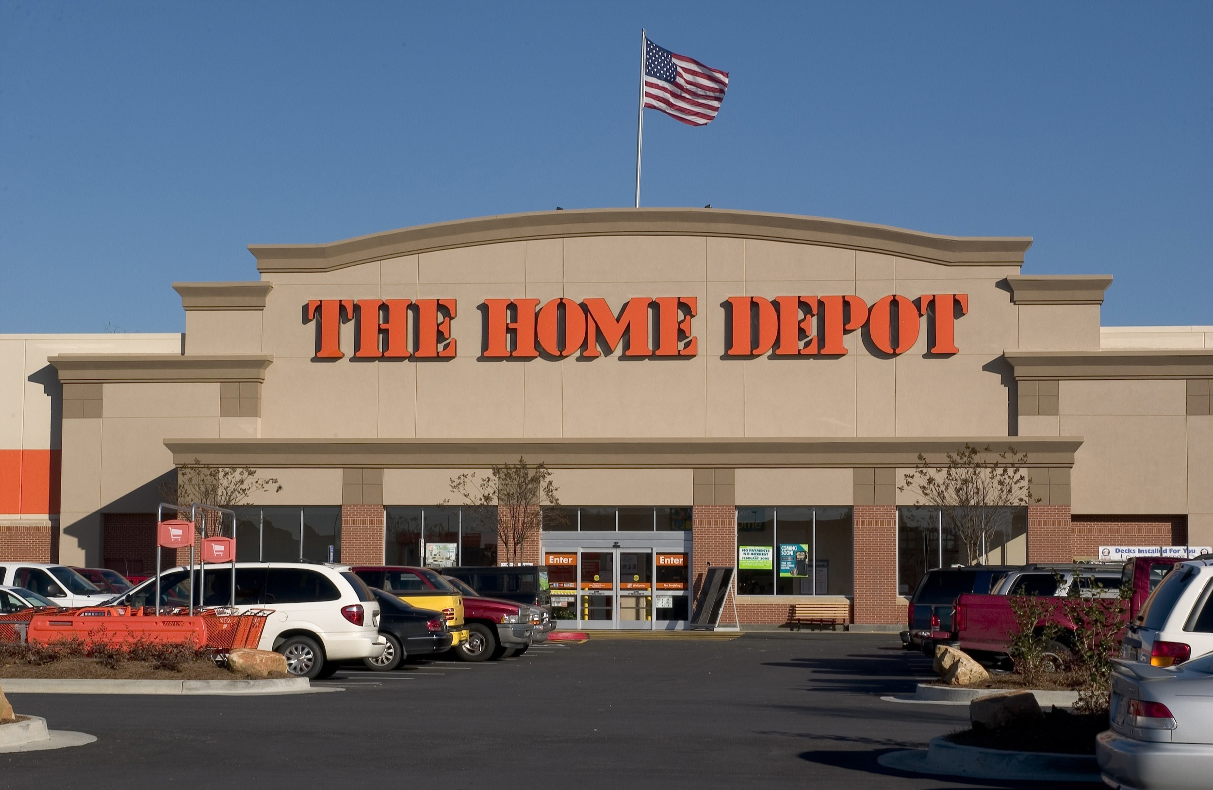 """Welcome to ""Home Depot"" where we have all the lusty, carbon bike components you'd ever want."