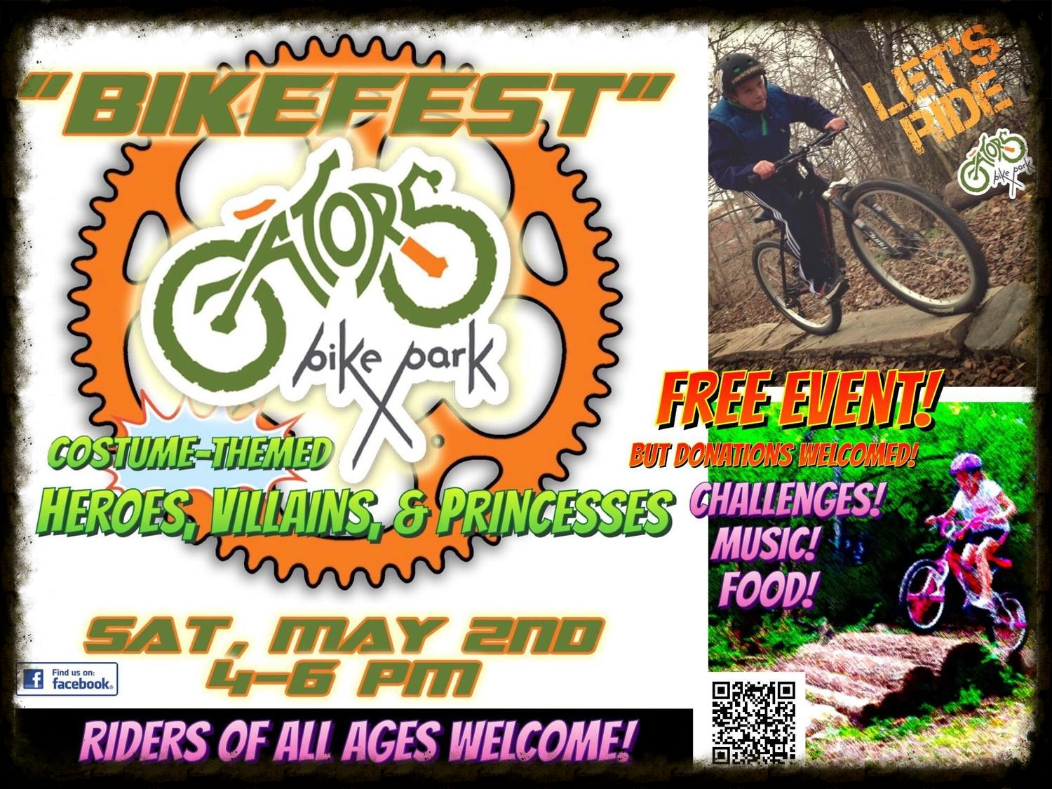 """Don't forget to mark your calendars for BikeFest, a great """"Moving Beyond the Trail"""" event for your kids!"""
