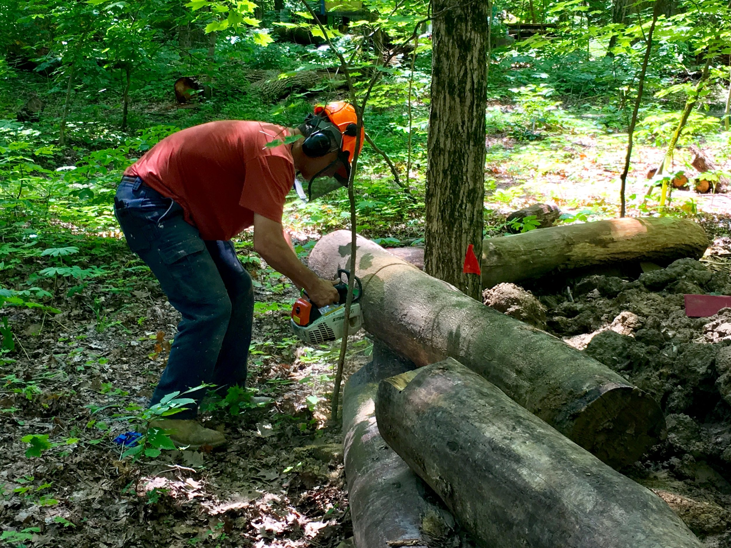 Head Gnome on the job means you're part volunteer wrangler, part Lumberjack.