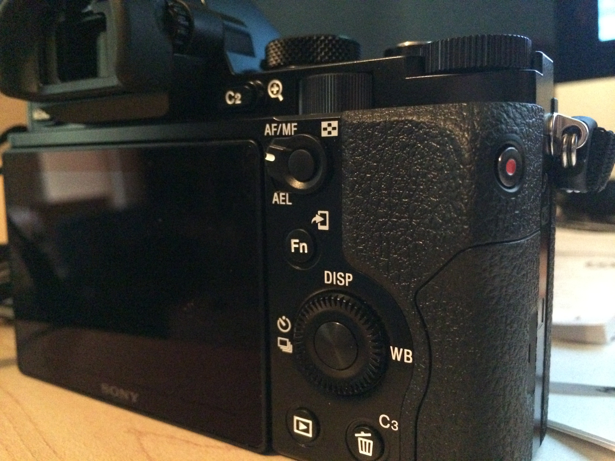 Sony A7S Review Buttons Photo Side