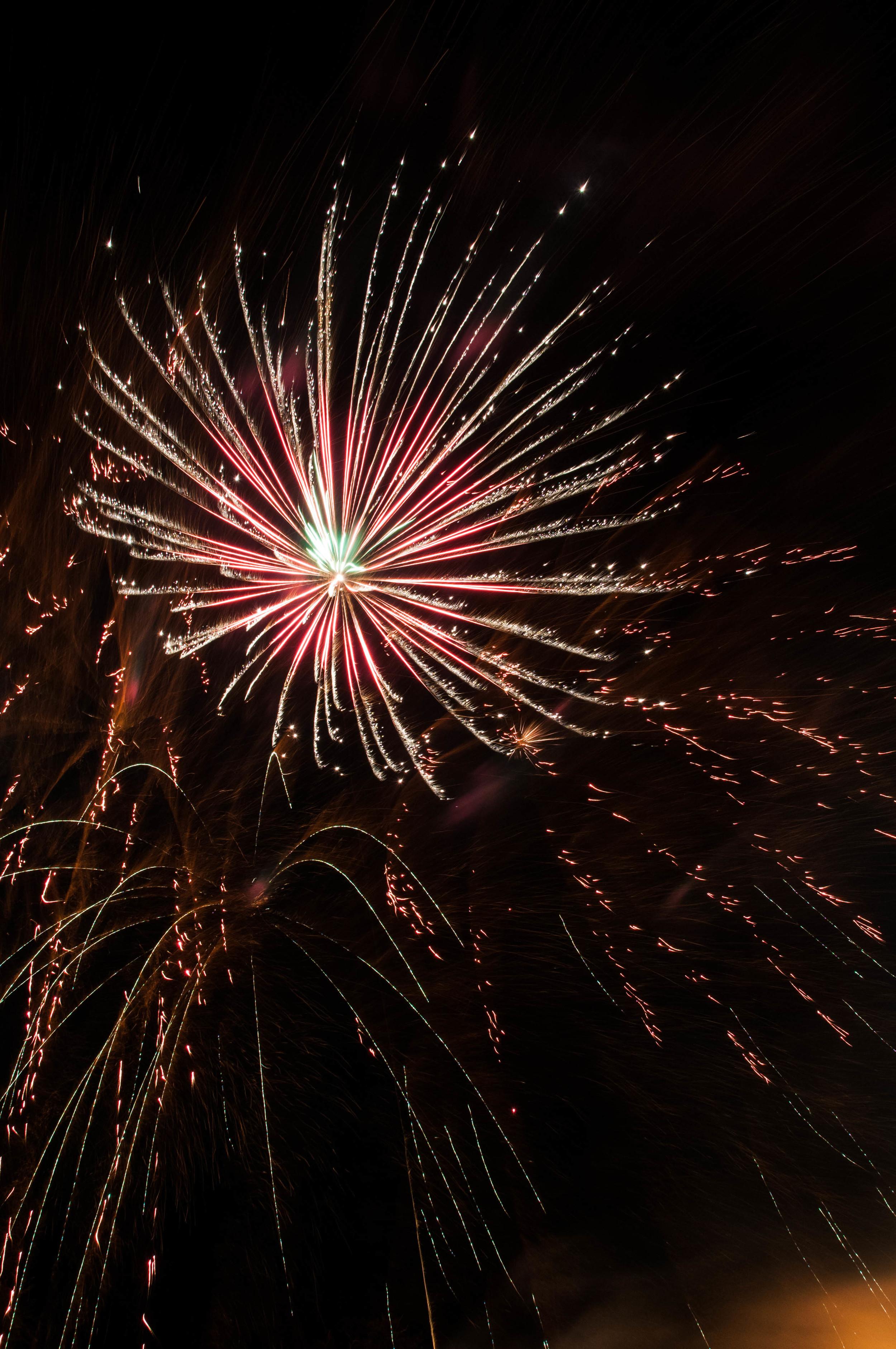 Denver Fireworks A D Hall Photography