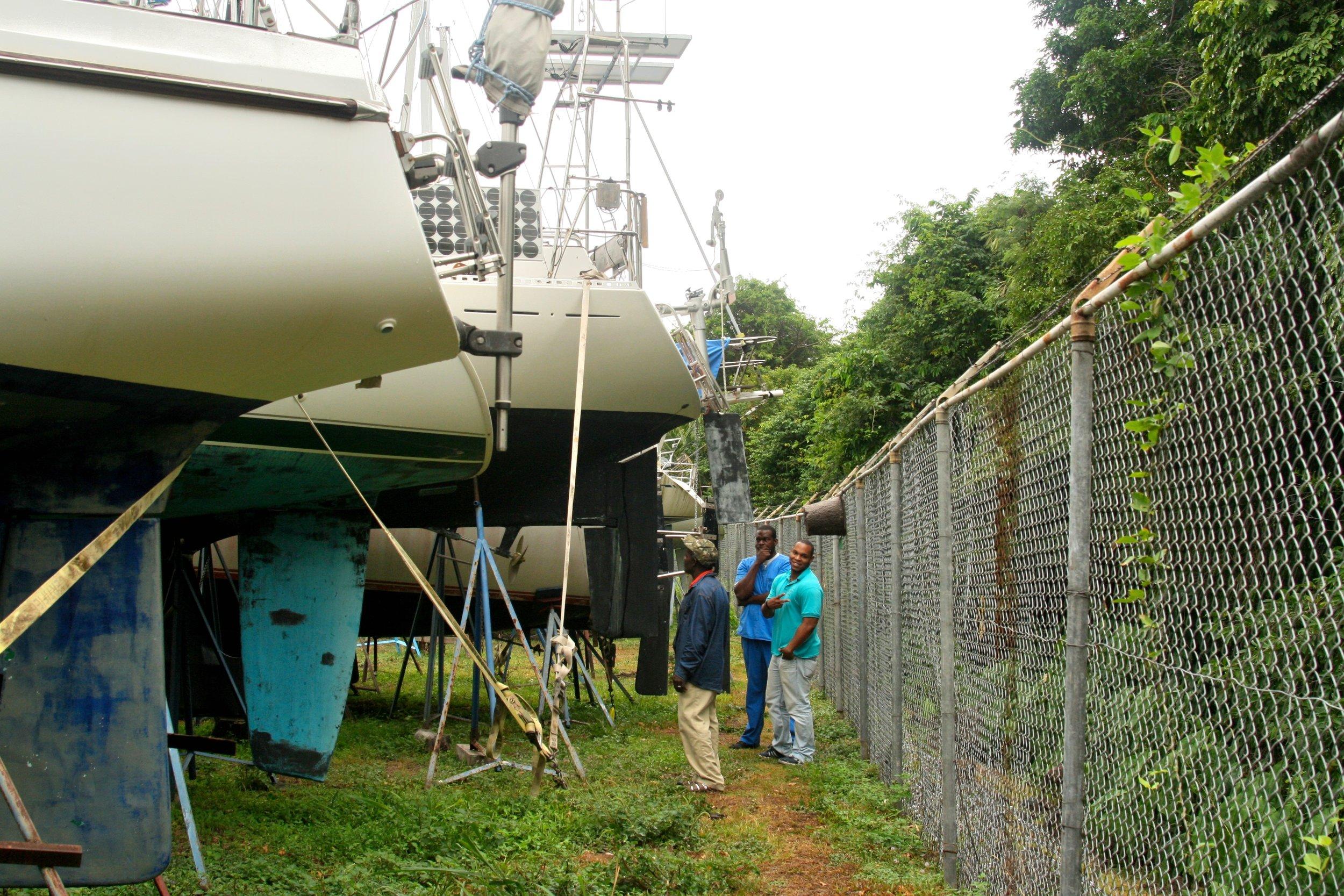 Grenada Ship Yard Bait Hives.jpg