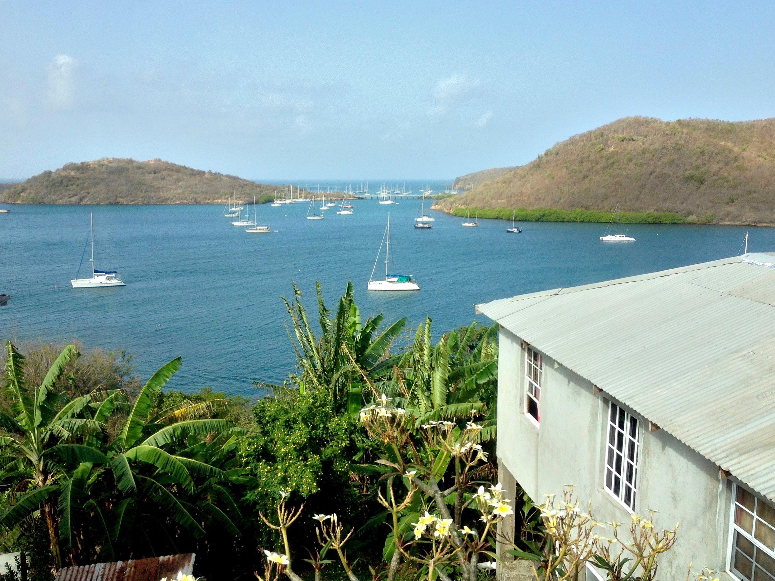 Grenada Sea View Sailboats.jpg