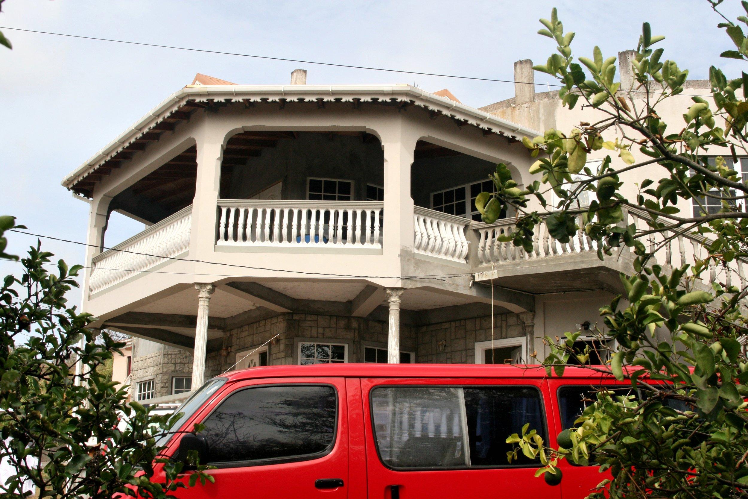 Grenada House Red Van .jpg