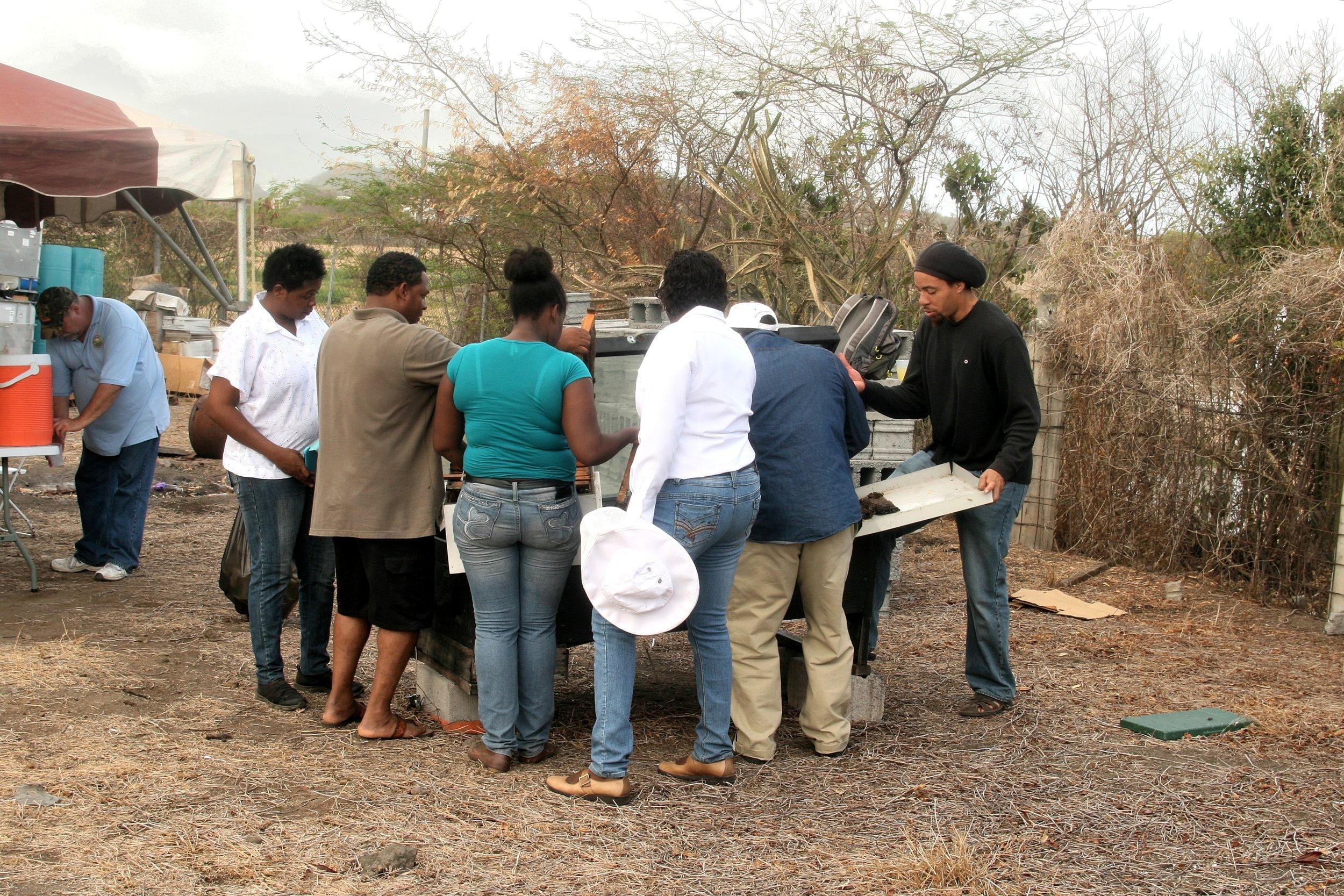 Grenada Solar Wax melter.jpg
