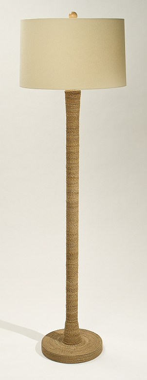 Jute Wrapped Floor Lamp