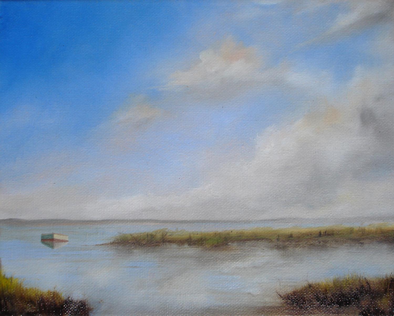 Boat on Wetlands