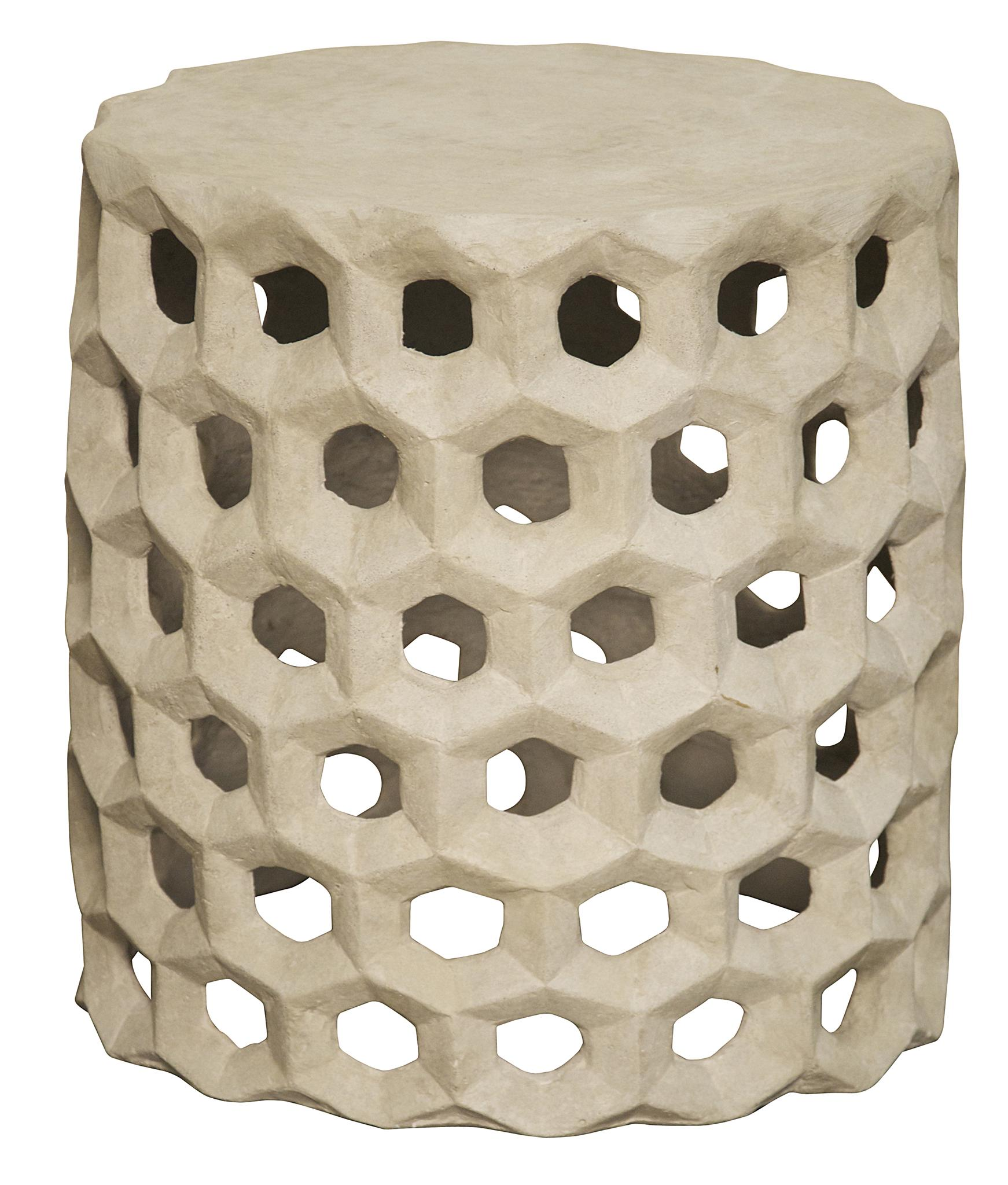 Hive Cement Side Table