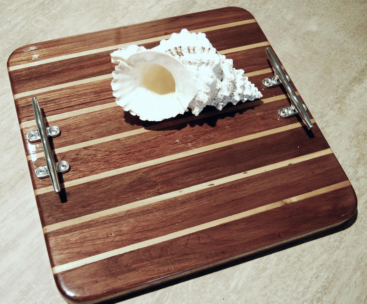 Teak Wood Board Tray