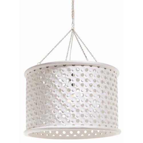 Honeycomb White Pendant