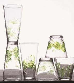 Fern & Frond Glass
