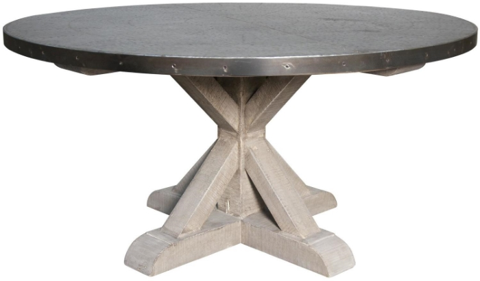 Round X Dining Table
