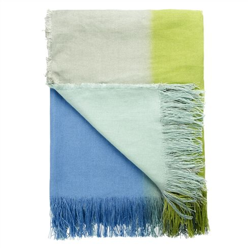 Cool Toned Throw Blanket
