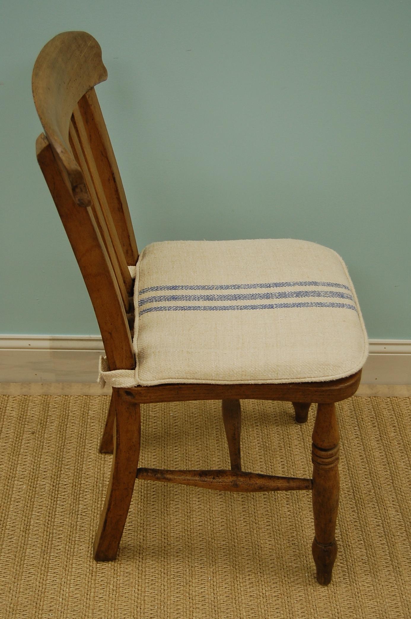 Vintage Chair w/ Seat Cushion