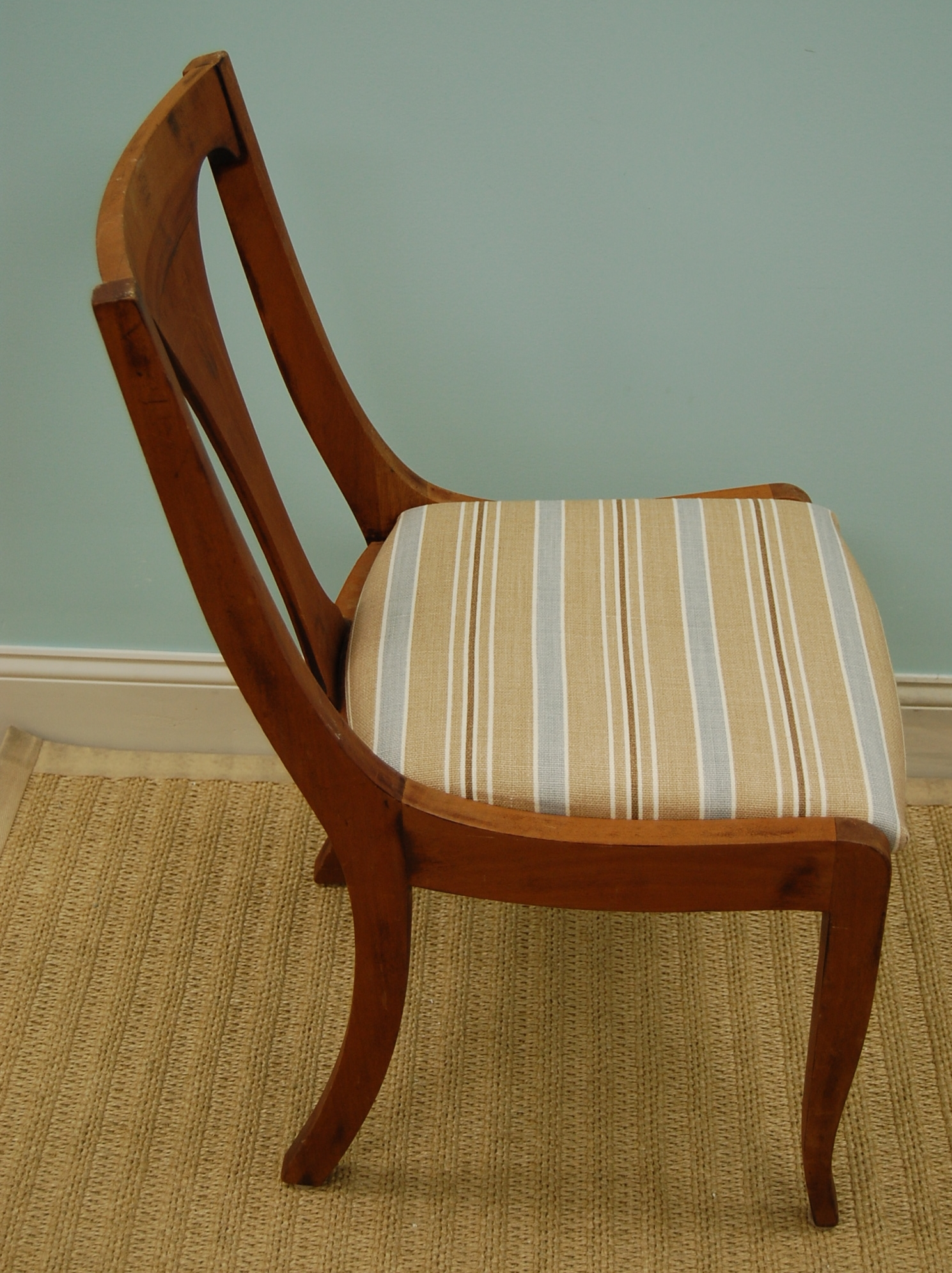 Striped Vintage Chair