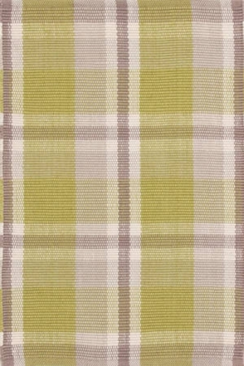 Moss Plaid In/Out Rug