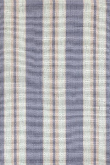 Clear Blue Stripe In/Out Rug