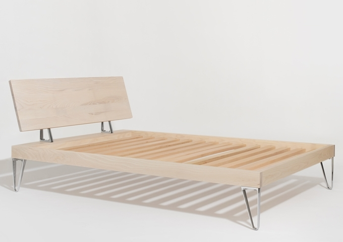 Simply Modern Ash Bed