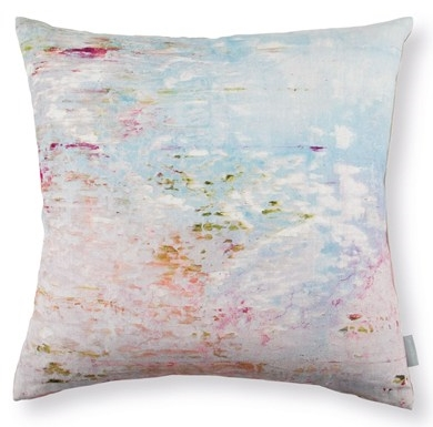 Bright Joy Watercolor Pillow