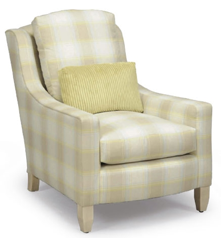 Cape Fear Plaid Chair